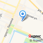 Зарина на карте Санкт-Петербурга