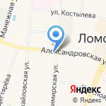 Общероссийская организация профессионального союза работников государственных учреждений и общественного обслуживания РФ на карте Санкт-Петербурга