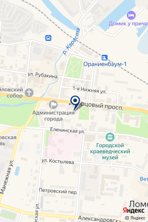 УПРАВЛЕНИЕ ГОСАВТОИНСПЕКЦИИ ГУВД ПО СПБ И ЛЕНИНГРАДСКОЙ ОБЛАСТИ на карте Ломоносова