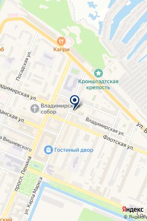 БАНКОМАТ на карте Кронштадта