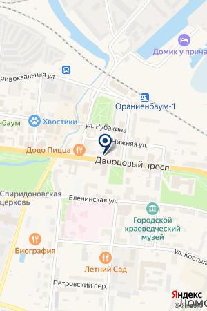 МАГАЗИН АВТОЗАПЧАСТИ на карте Ломоносова