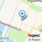 Фортеция на карте Санкт-Петербурга