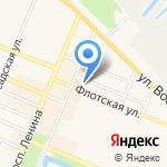 Невис на карте Санкт-Петербурга