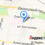 АБРИС на карте Санкт-Петербурга