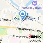 Центр бухгалтерских услуг на карте Санкт-Петербурга
