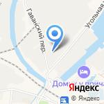 Военный завод №28 на карте Санкт-Петербурга