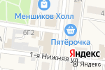 Схема проезда до компании Stars в Санкт-Петербурге
