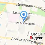 Ладья на карте Санкт-Петербурга