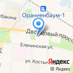 АТЛАНТ-ГЕОДЕЗИЯ на карте Санкт-Петербурга