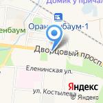 Адвокатский кабинет Акимовой А.Г. на карте Санкт-Петербурга