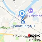 Танеева на карте Санкт-Петербурга