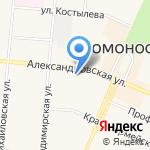 Hot-system на карте Санкт-Петербурга