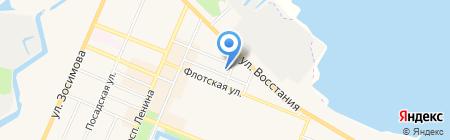 ПОЛИКОМ на карте Санкт-Петербурга