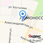 Магазин одежды и товаров для дома на карте Санкт-Петербурга