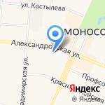 Жилкомсервис г. Ломоносова на карте Санкт-Петербурга