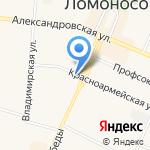 Эльбрус на карте Санкт-Петербурга