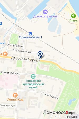 ДОМОУПРАВЛЕНИЕ № 6 на карте Ломоносова