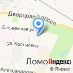 Витамин на карте Санкт-Петербурга
