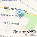 Рябина на карте Санкт-Петербурга