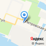 Морской клуб на карте Санкт-Петербурга