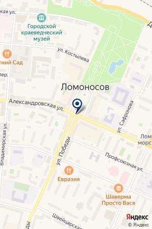 ЗАВОД МЕТАЛЛОКОНСТРУКЦИЙ ЖЕЛЕЗКИН И СЫНОВЬЯ на карте Ломоносова