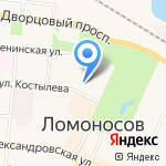 Находка на карте Санкт-Петербурга