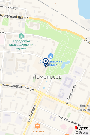 МЕДИА СТАЙЛ на карте Ломоносова