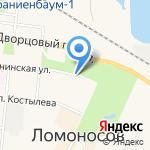 Ветсервис на карте Санкт-Петербурга