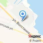 Всероссийское общество автомобилистов на карте Санкт-Петербурга