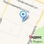 АТП-142 на карте Санкт-Петербурга
