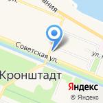Продовольственный магазин на карте Санкт-Петербурга