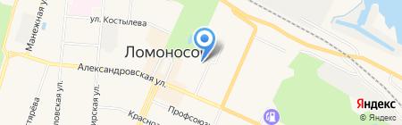 Средняя общеобразовательная школа №602 на карте Санкт-Петербурга