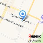 Магазин оптики на карте Санкт-Петербурга