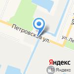 Оборонэнерго на карте Санкт-Петербурга