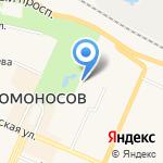Ленинградское общество охотников и рыболовов на карте Санкт-Петербурга