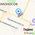 Ломоносовская рембыттехника на карте Санкт-Петербурга