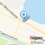 Средняя общеобразовательная школа №423 на карте Санкт-Петербурга