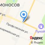 Магазин цветов и подарков на карте Санкт-Петербурга