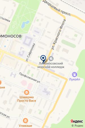 МАГАЗИН МЕТАЛЛОПЛАСТИКОВЫЕ ОКНА на карте Ломоносова