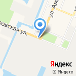 Лентранс на карте Санкт-Петербурга