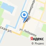 Библиотека №1 на карте Санкт-Петербурга