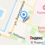 Детская музыкальная школа №8 им. Г.П. Вишневской на карте Санкт-Петербурга
