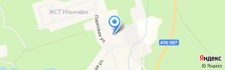 Красавица на карте Ильичёво