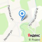 Красавица на карте Санкт-Петербурга