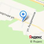 Келломяки-Комарово на карте Санкт-Петербурга