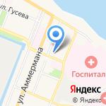 На Горе на карте Санкт-Петербурга