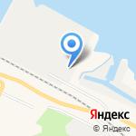 НИИ спасания и подводных технологий на карте Санкт-Петербурга