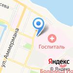 Гольфстрим на карте Санкт-Петербурга