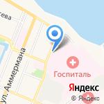 Церковь Николая Чудотворца в Морском госпитале на карте Санкт-Петербурга