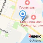 Часовня Богоявления Господня на карте Санкт-Петербурга